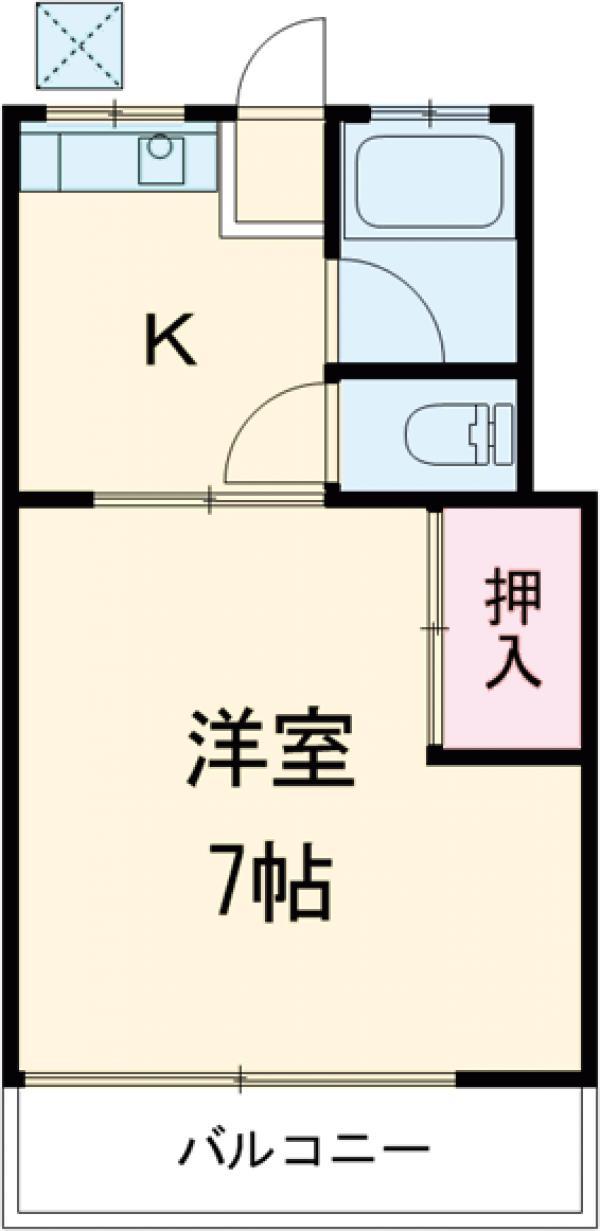 ハウス太田第2 112号室の間取り