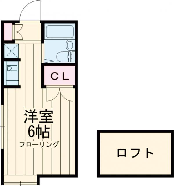 代田マンション2号館 102号室の間取り