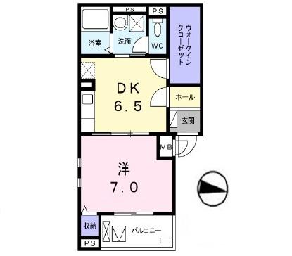 (仮)南千束3丁目マンション 201号室の間取り