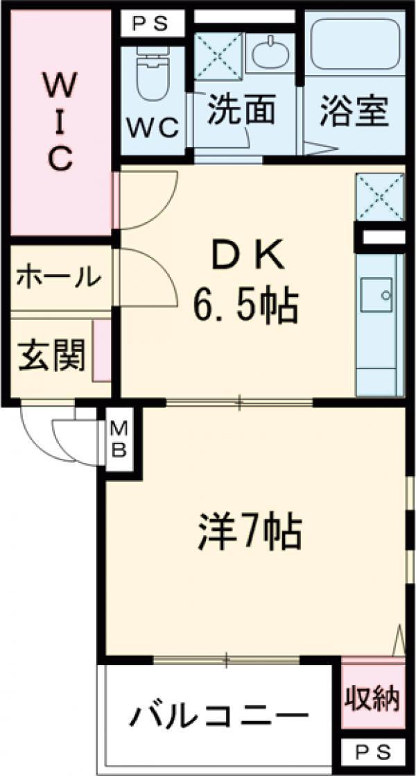 (仮)南千束3丁目マンション 302号室の間取り
