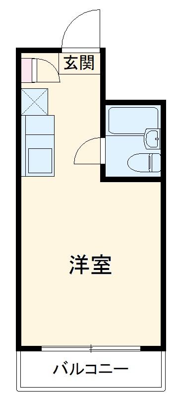 シャトレアマノ 207号室の間取り