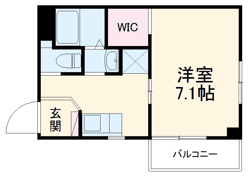 上落合SIマンション 205号室の間取り