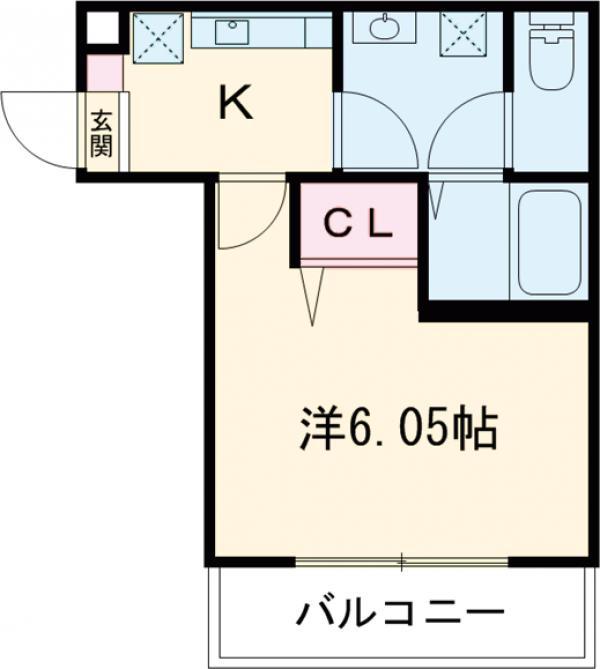 3F HAUS 101号室の間取り