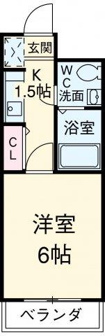 スペーステック松島 603号室の間取り