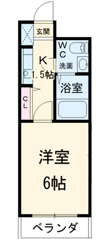 スペーステック松島 606号室の間取り