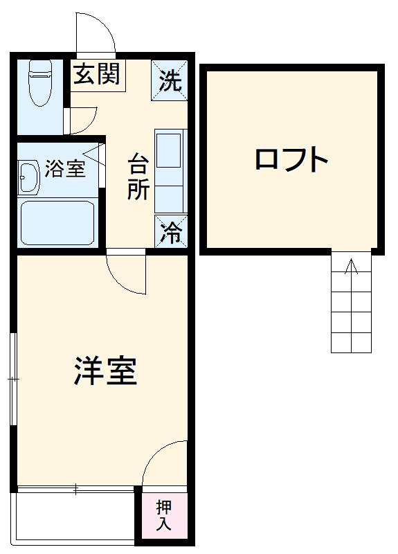 ライトコート博多駅東 201号室の間取り