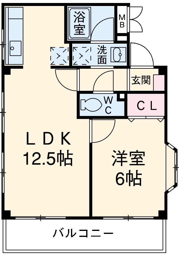 池田志誠堂 301号室の間取り