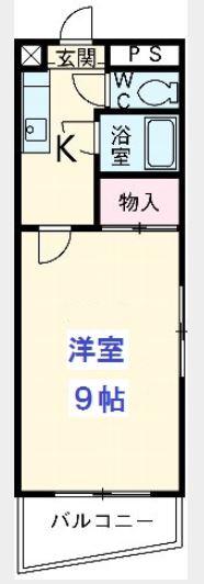 ラピス博多駅東 701号室の間取り