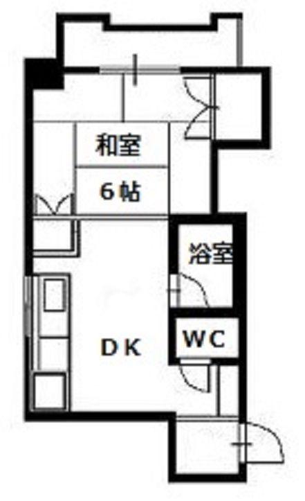 KYUKO第5ビル 4F号室の間取り