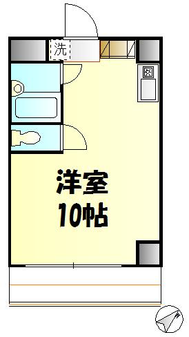 高野台ビル Part1 302号室の間取り
