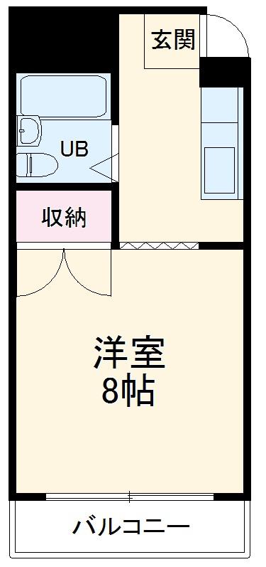 プレアール箕面粟生 203号室の間取り