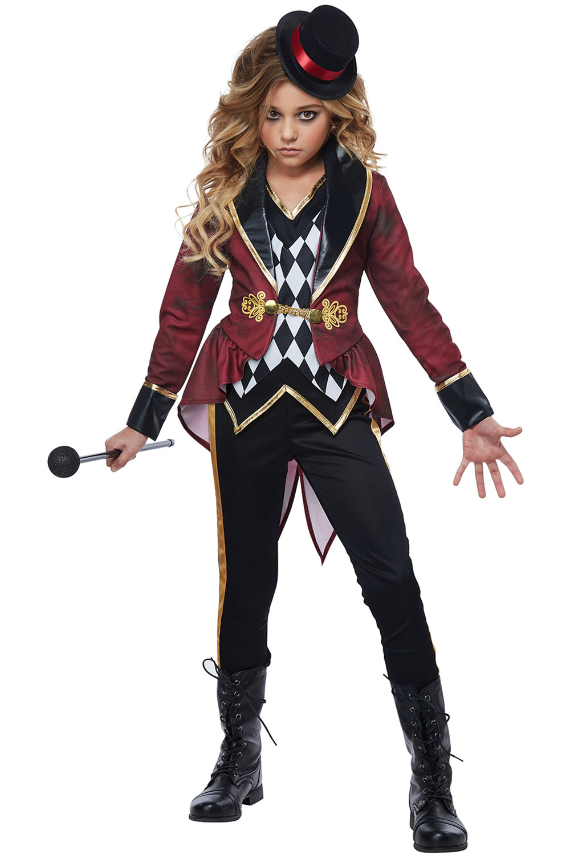 Festival Circus Clown Ring Master Entertainer Costume Attire Child  sc 1 st  Hallowen Costum Udaf & ringmaster halloween costume - Hallowen Costum Udaf