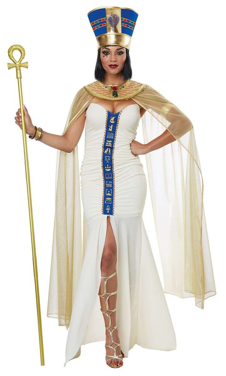 Queen Of Egypt Ruler Cleopatra Dress Drapes Egyptian