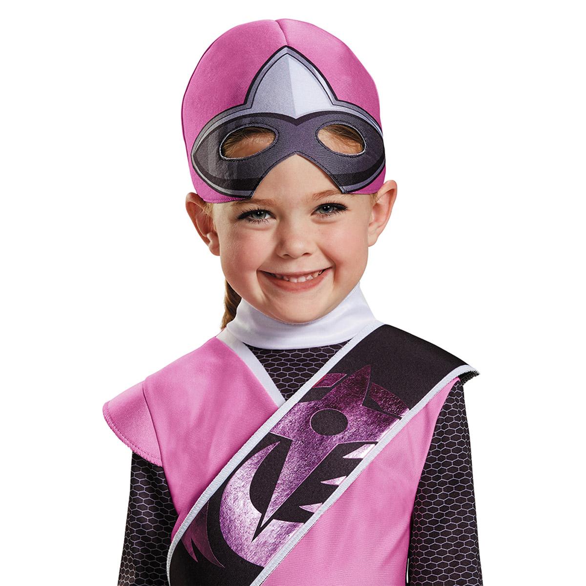 Licensed-Pink-Power-Ranger-Ninja-Steel-Deluxe-TV-  sc 1 st  eBay & Licensed Pink Power Ranger Ninja Steel Deluxe TV Character Costume ...