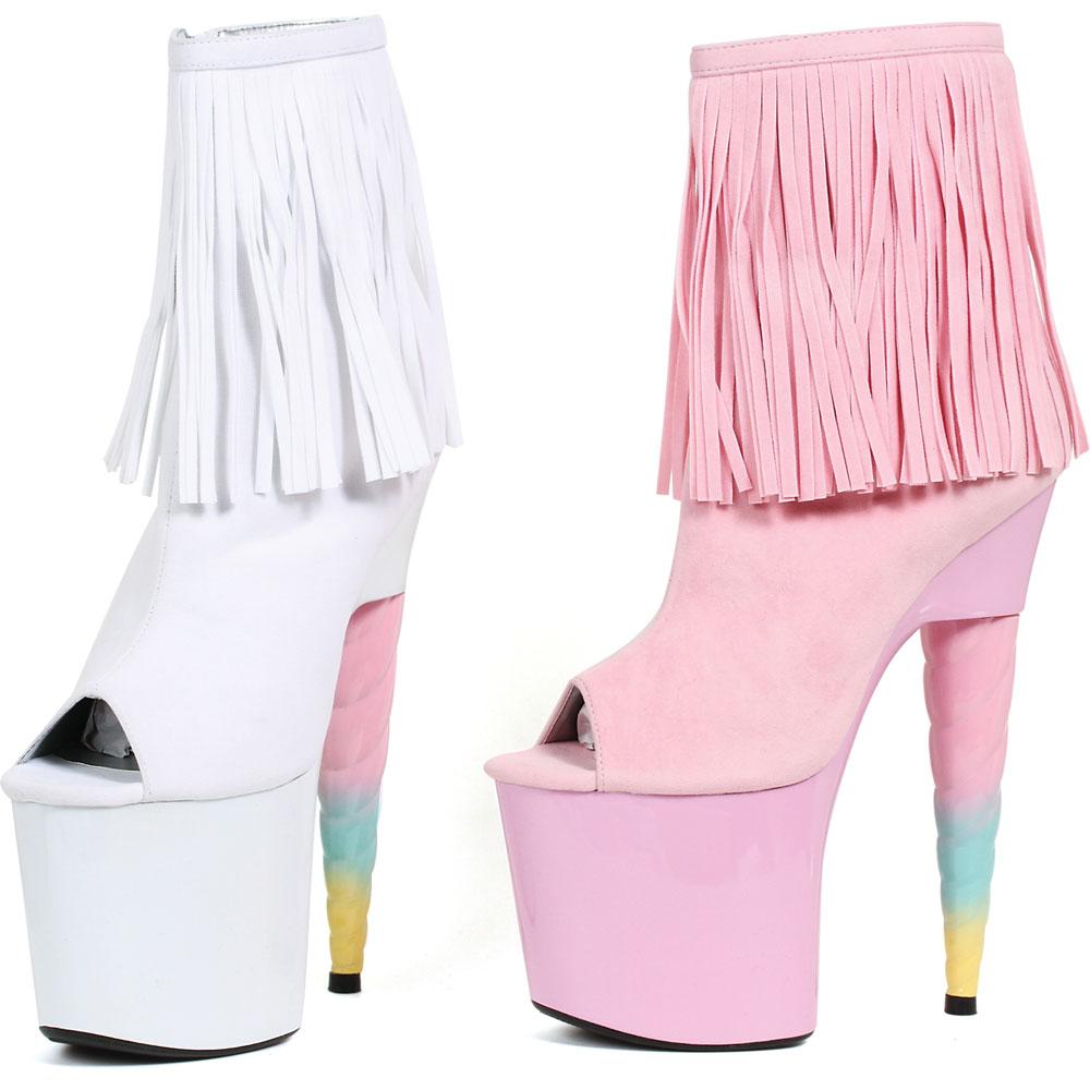 Cute Stylish Platform Pink 7