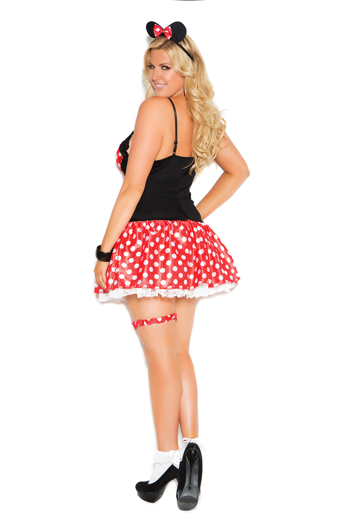 Miss Mouse Plus Size Costume By Elegant Moments Women 3x 4x Ebay