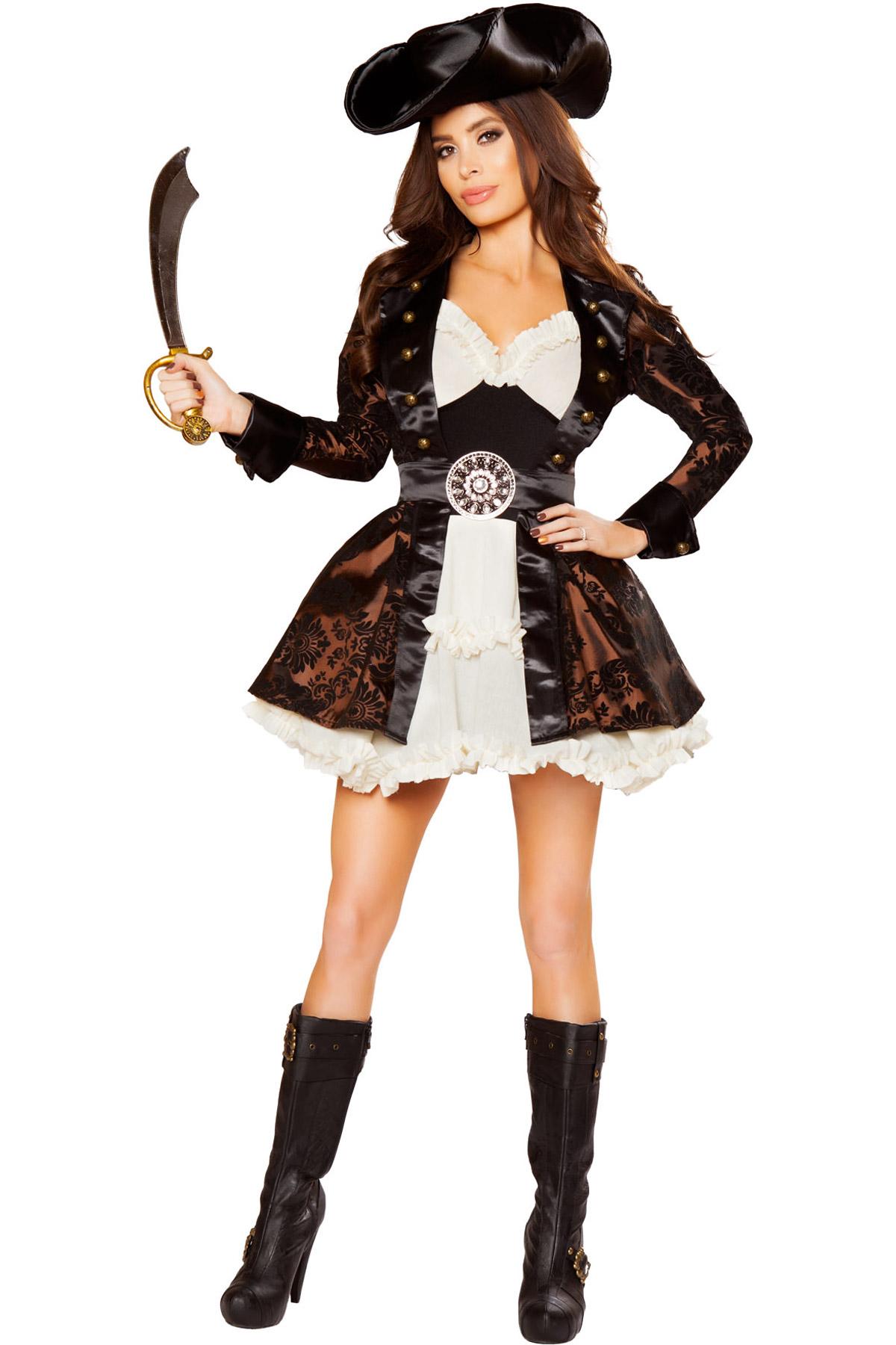 Pirate Beauty Womens Adult Pirate Costume