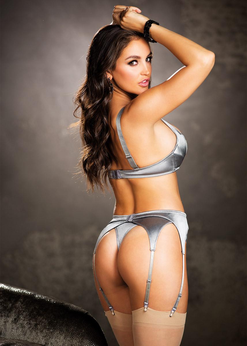 Sexy Alluring Seductive Tempting Garter Belt Spandex -5387
