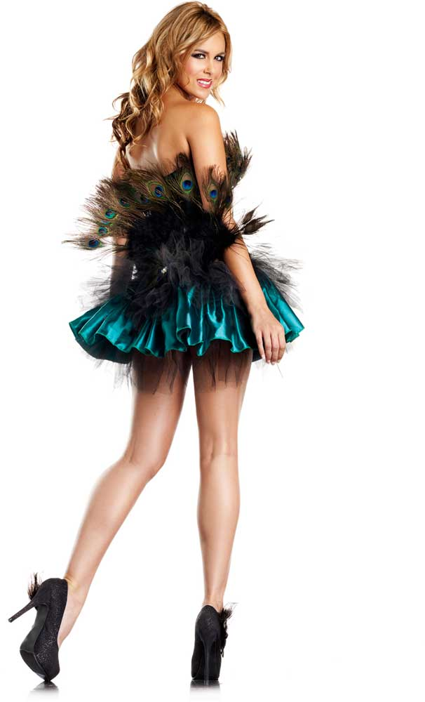 Sexy peacock costumes
