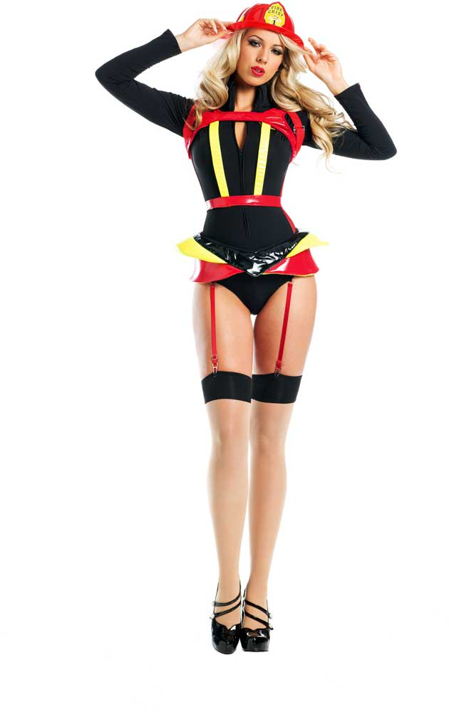 Adult firefighter costume, where to find a threesome