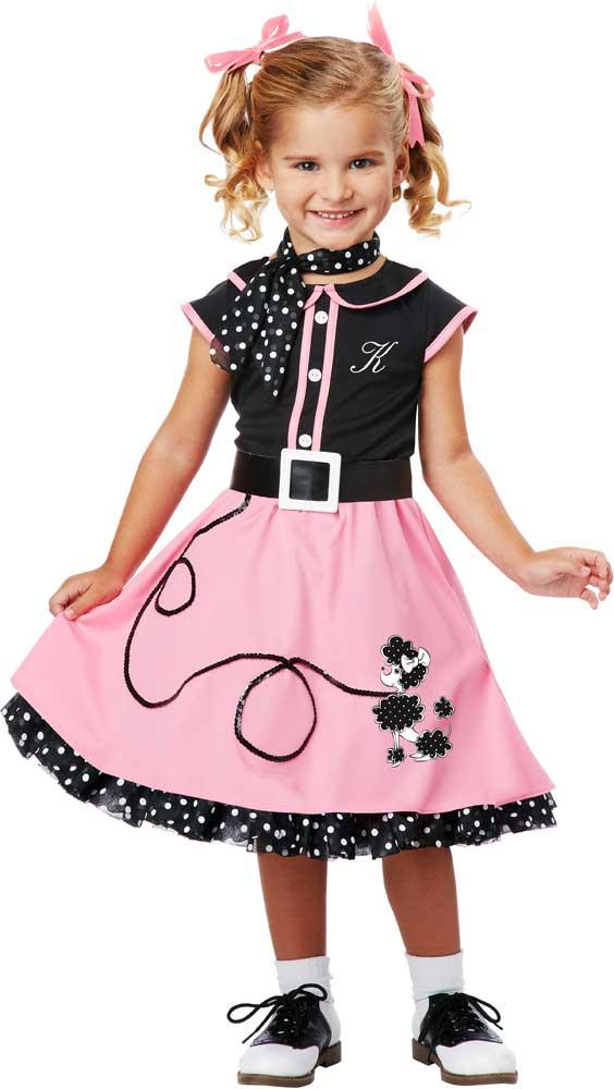 Cute 50 039 S Hairspray Poodle Skirt Dress