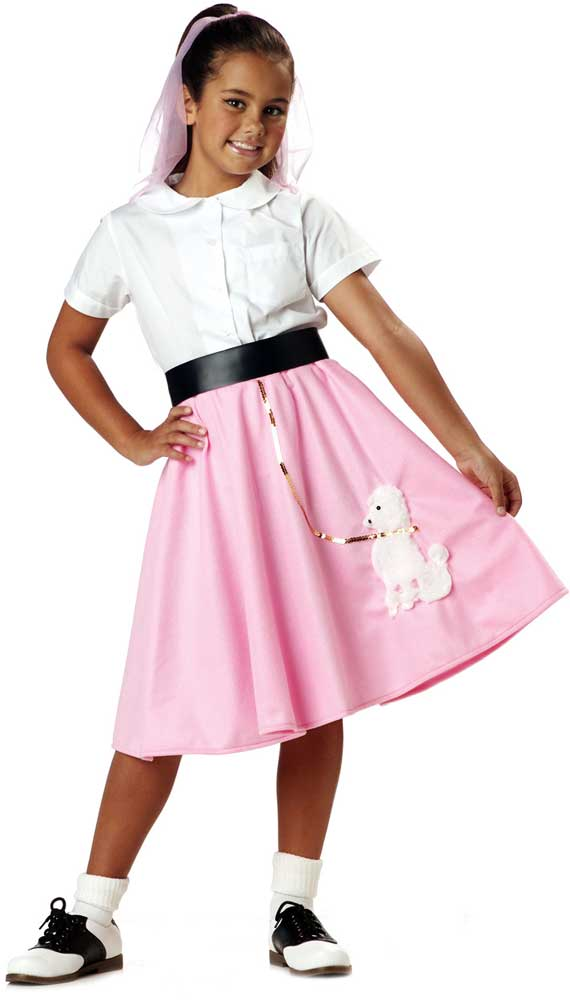 child girls 50 039 s poodle skirt halloween