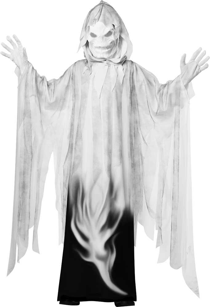 espeluznante columna vertebral escalofriante halloween disfraz ghost espiritu
