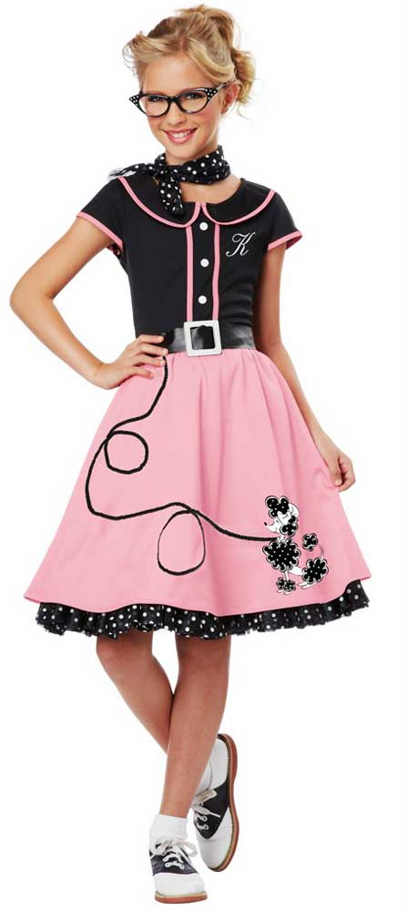 Girl S Poodle Skirt