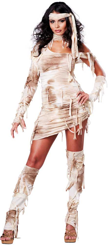 preserved beauty egyptian mystical mummy halloween costume outfit