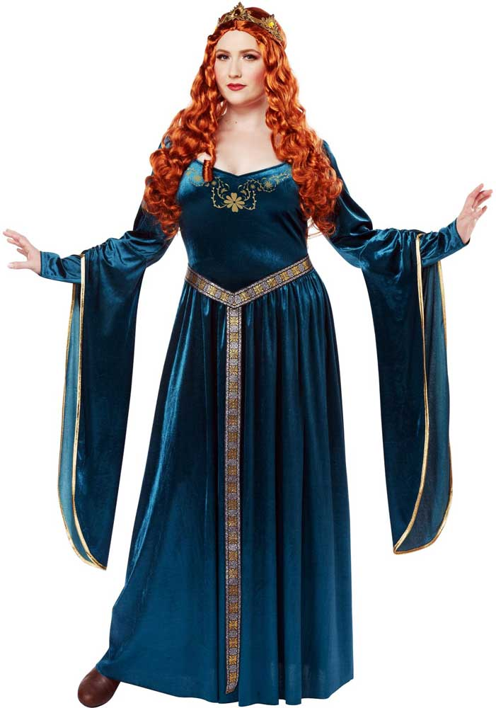 Halloween costume medieval adult