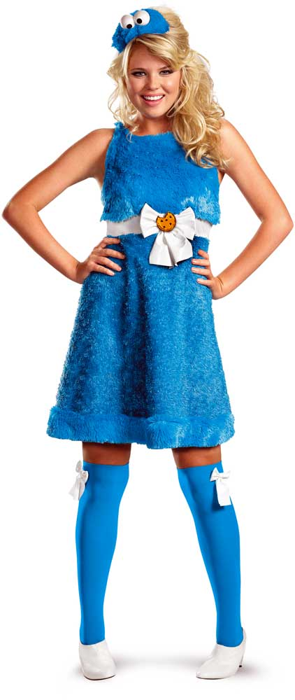 ... Picture 2 of 2  sc 1 st  eBay & Halloween Lifesize Sesame Street Cookie Monster Sassy Small Adult ...