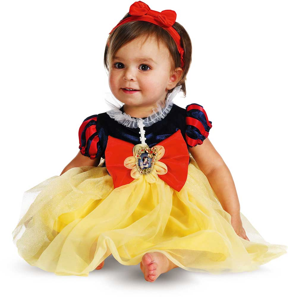 licensed disney princess snow white deluxe baby infant girl