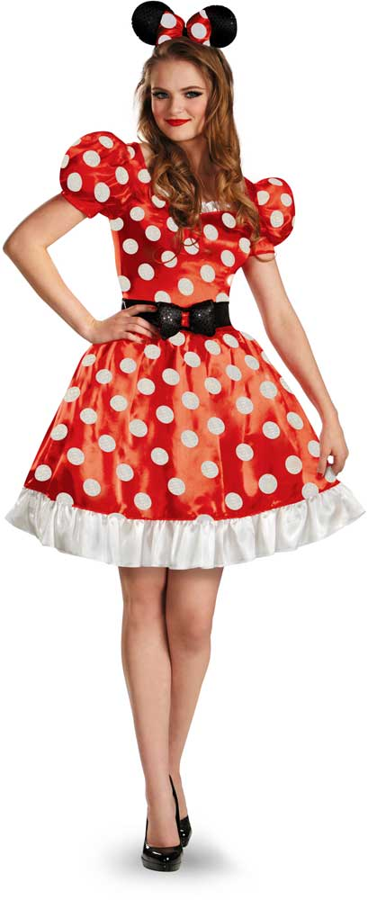 licensed disney minnie mouse classic women 039 s - Classic Womens Halloween Costumes