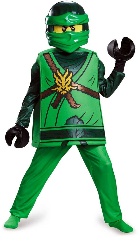 Ninjago Halloween Costumes | Licensed Ninjago Lego Lloyd Deluxe Child Boy Halloween Costume Ebay