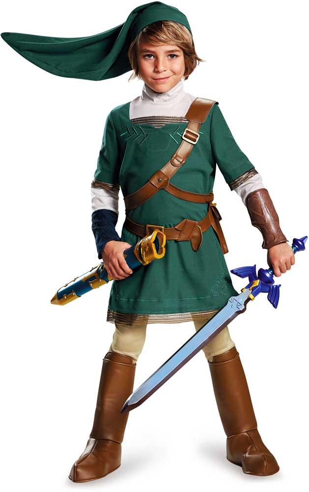 Licensed-Nintendo-The-Legend-Of-Zelda-Link-Prestige-  sc 1 st  eBay & Licensed Nintendo The Legend Of Zelda Link Prestige Child Boys ...