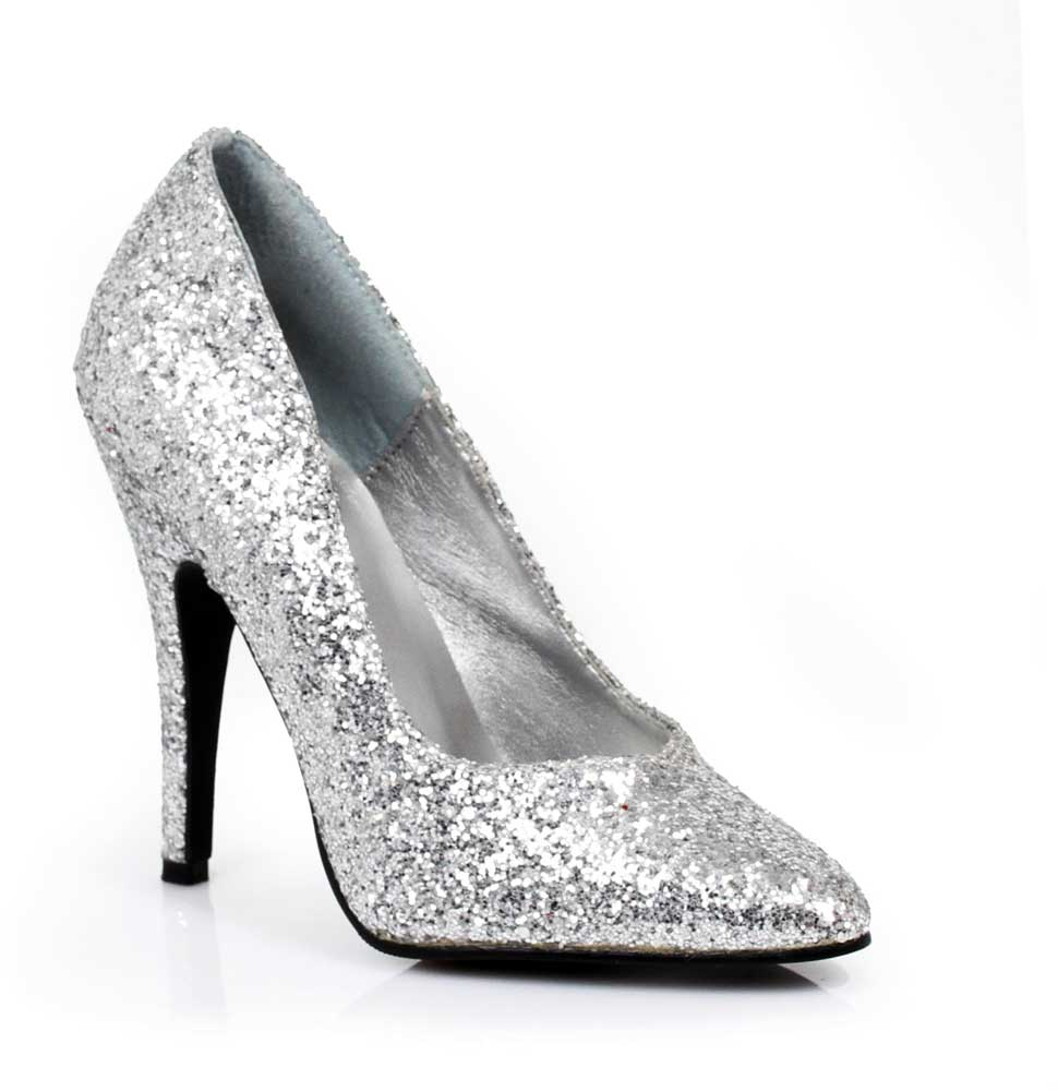 3a473e96071 Classic Glitter Stiletto Closed Pointed Toe Pumps High Heels Shoes ...