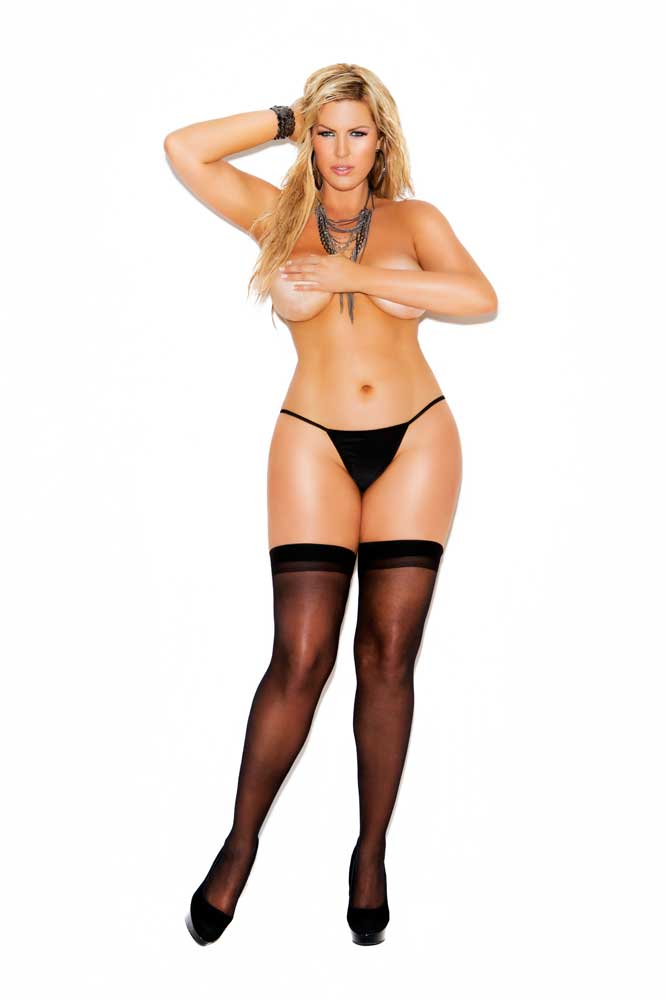 sexy sheer stockings back seam tights thigh highs hosiery adult