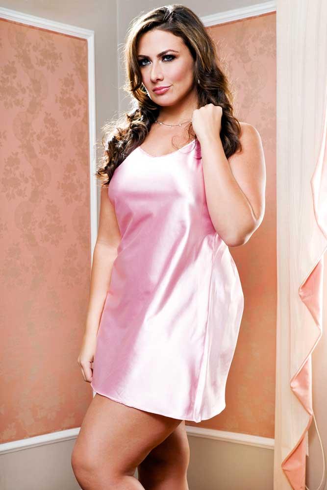 Plus Size Lingerie Dresses 107