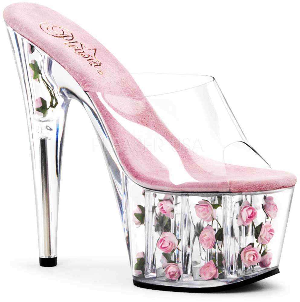Flower-Fill-Platform-Stiletto-Slip-On-Mule-Stripper-High-Heels-Shoes-Adult-Women