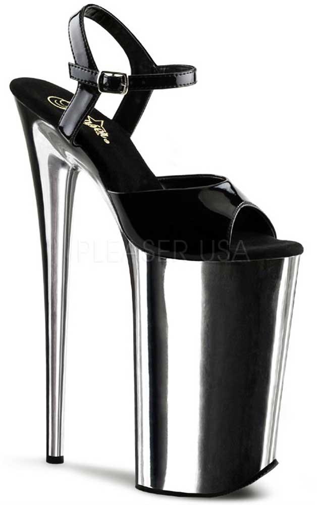 Sexy Extreme plateformes Bride Cheville Sandales Talons Hauts Chaussures Femmes Femmes Femmes Adultes a1fbe2