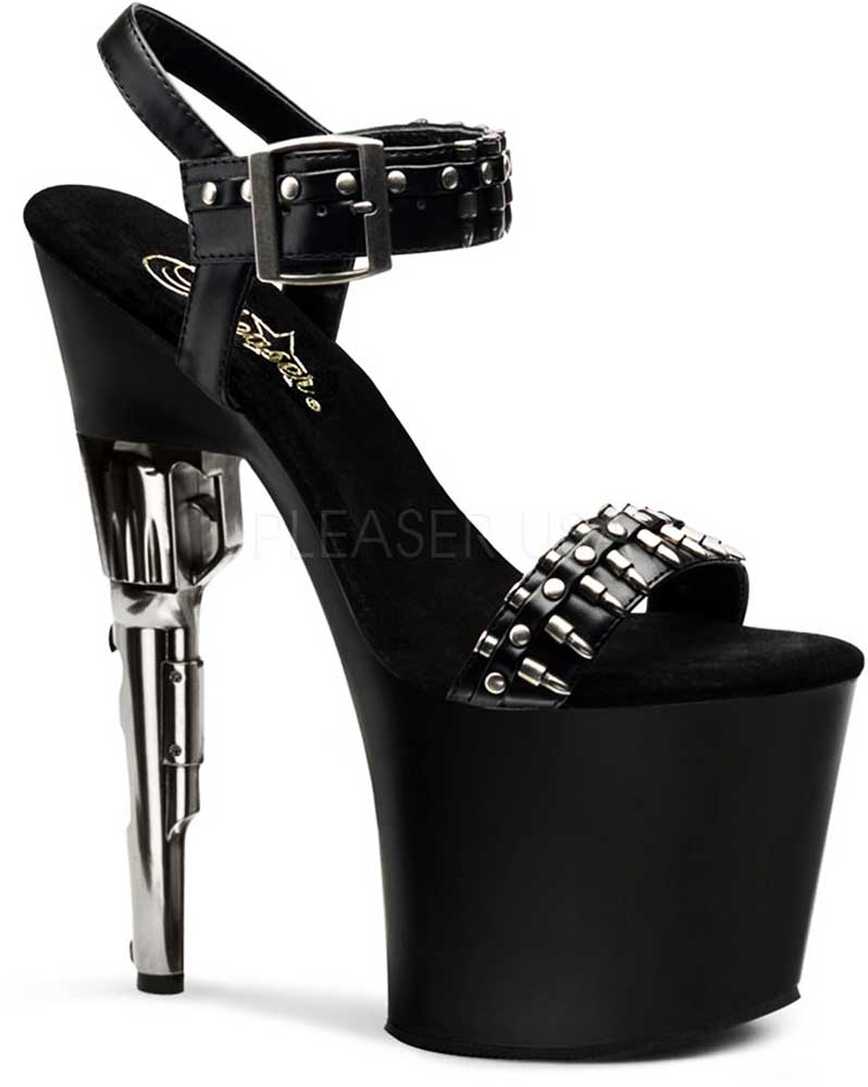 Sexy Sexy Sexy Revolver Stiletto Platform Bullet Strap Sandale High Heels Schuhes Adult Damens 470f5a