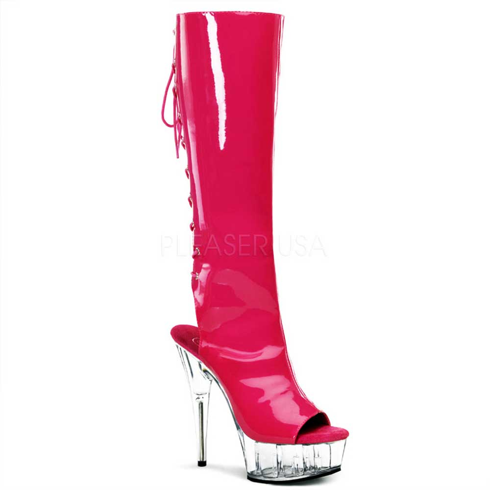 Hot Lace Up Back Zip High Closure Platform Stiletto Knee High Zip Stiefel Schuhes Adult Damens 1837da