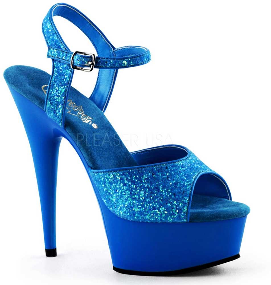 Neon Light Glitter Straps Platform Stiletto Sandales High Heels Schuhes Schuhes Schuhes ... 9e8ca1