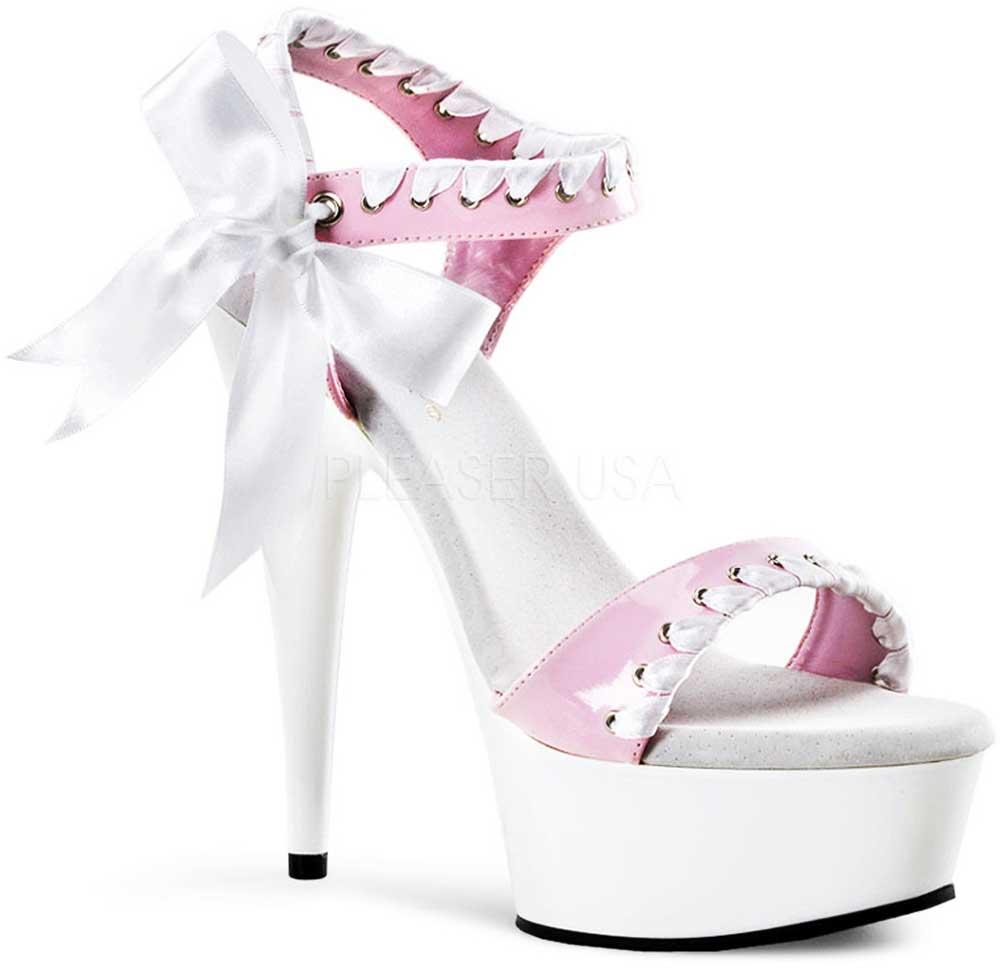 Sexy Satin Lace Strapped Platform Stiletto Sandals Sandals Sandals High Heels schuhe Adult damen d45d46