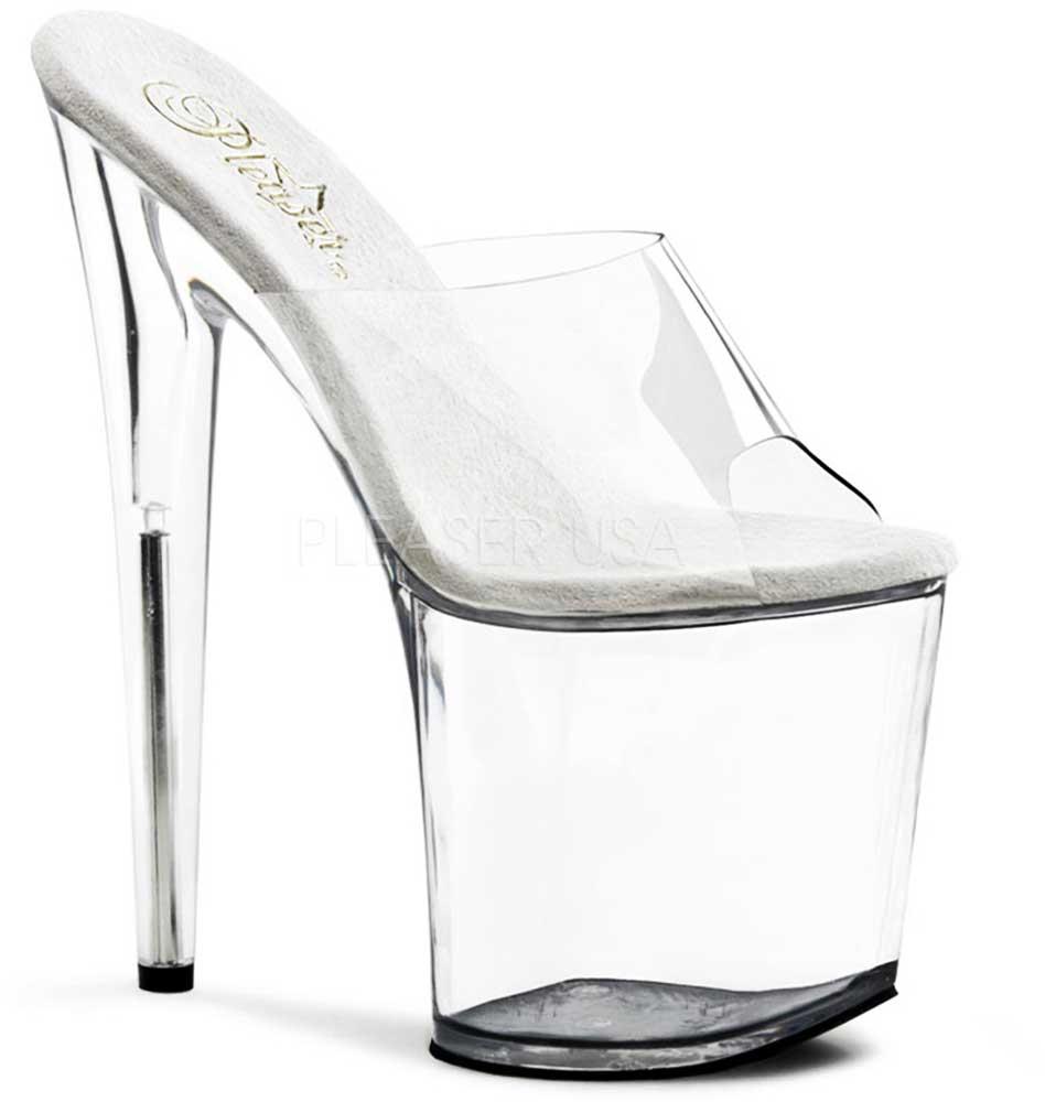 Sexy Platform Stiletto Peep Toe Slide Mules High Heels Heels Heels schuhe Adult damen addbd3