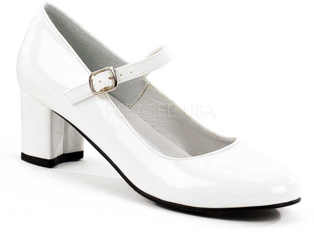 mary Adult shoes white jane