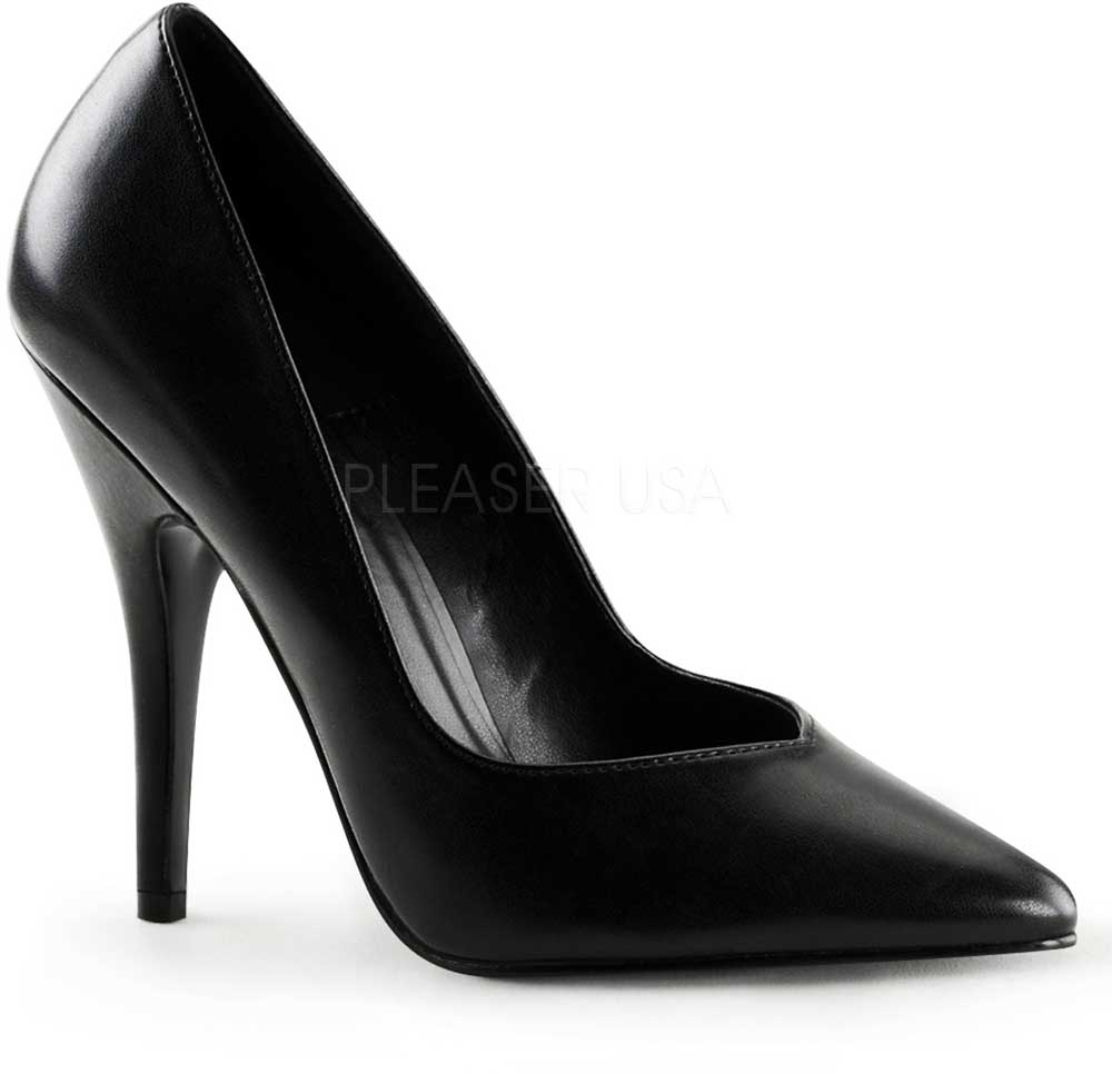 c8fee691c45 Classic Business Casual Pointed Toe Pumps Stiletto High Heels Shoes ...