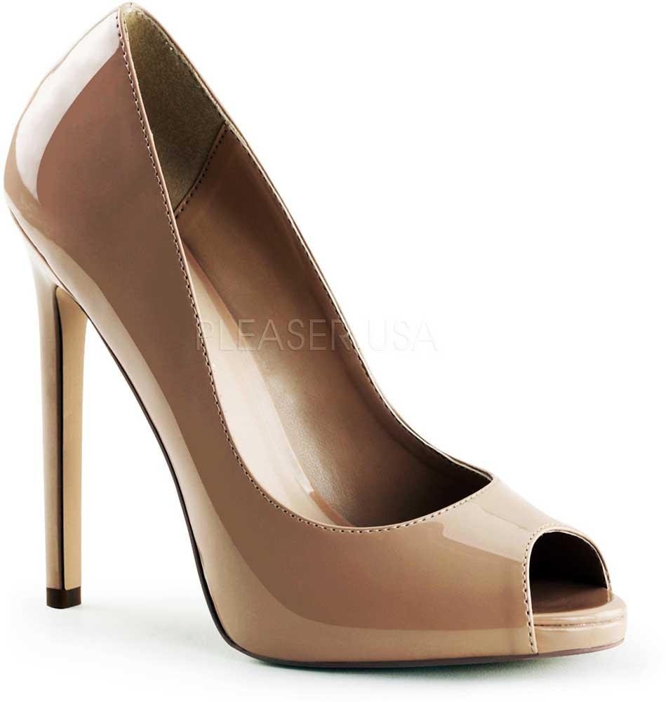 Sexy Classic Peep Toe Mini Platform Stiletto Stiletto Stiletto Pumps High Heels schuhe Adult damen 404b71