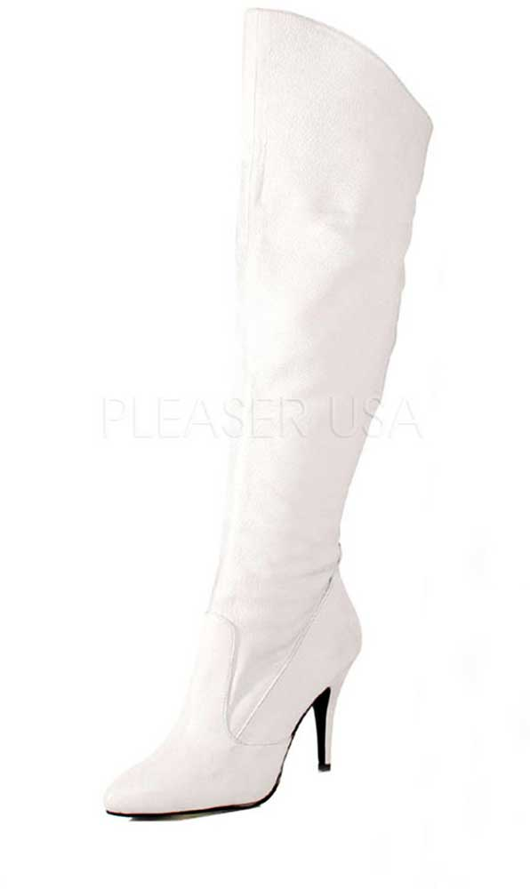Sexy Side On Zipper Pull On Side Cuffed Knee High Stiletto Heel Stiefel Schuhes Adult Damens 7f0455