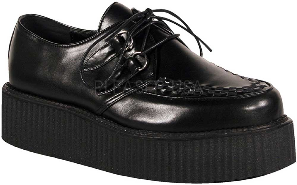 Goth Punk Rockabilly Blucher Derby Lace Platform Creeper Stivali Shoes Shoes Shoes Adult Uomo 7bb2e6